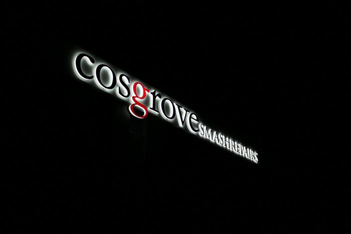 Cosgrove 3D LED Side Lit Sign