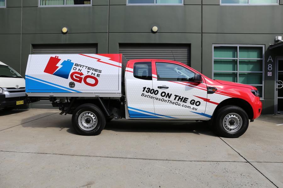 Ford Ranger Ute Wrap