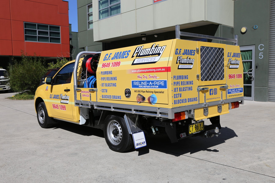 Plumbers Ute Graphics