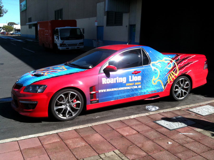 Lion Ute Wrap