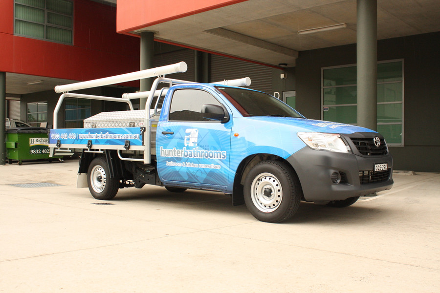 Hunter Bathrooms Ute Wrap
