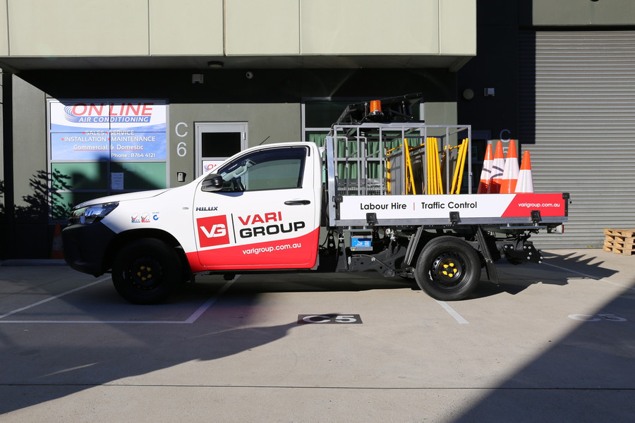 Vehicle Wrap - Ute 1/2 Wrap