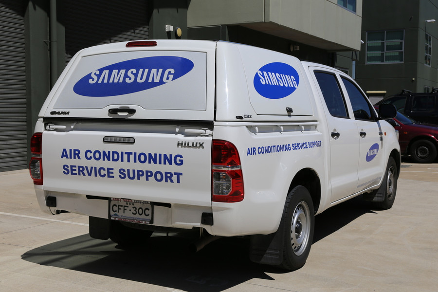 Samsung Ute Signs