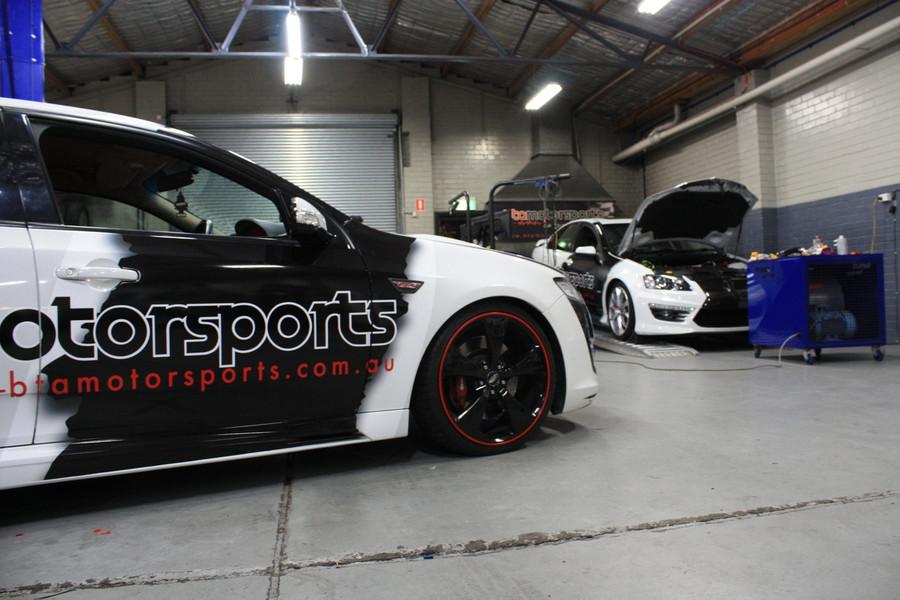 BTA Motorsports Car Graphics