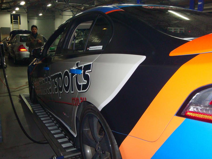 BTA Motorsports F6 Graphics