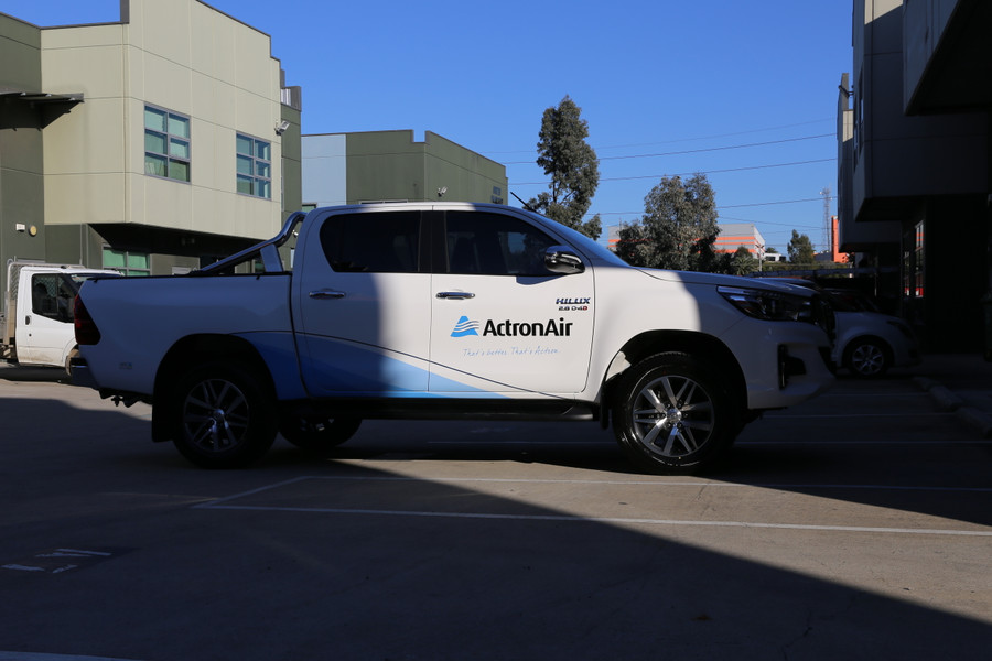 Actron Air Ute Graphics