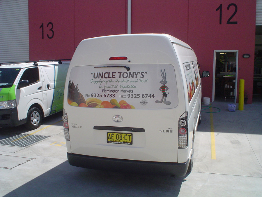 Uncle Tony's One Way Vision