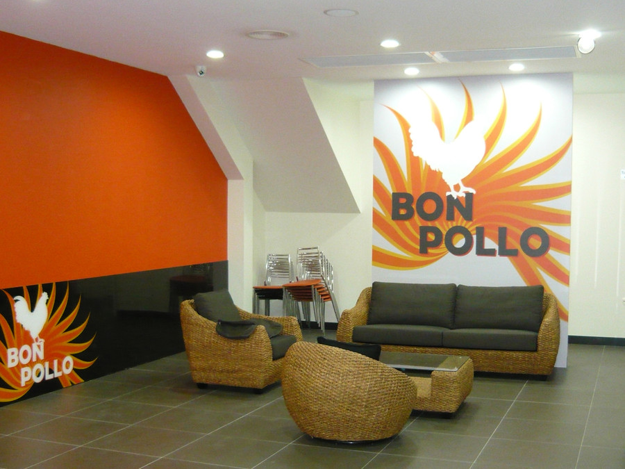 Bon Pollo Wall Graphics