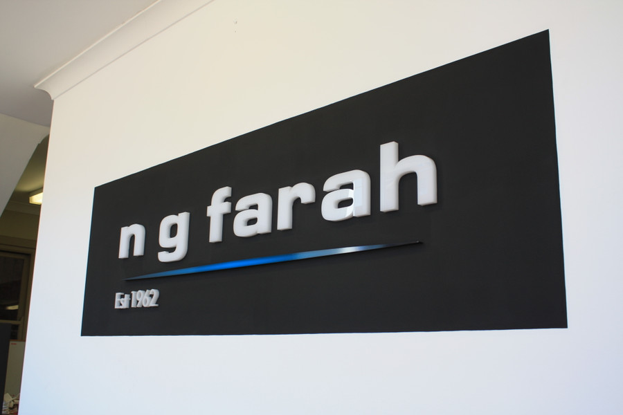 NG Farah 3D Reception Panel