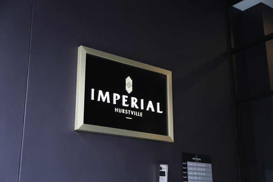 Imperial Hurstville 3D Board with LED Lights