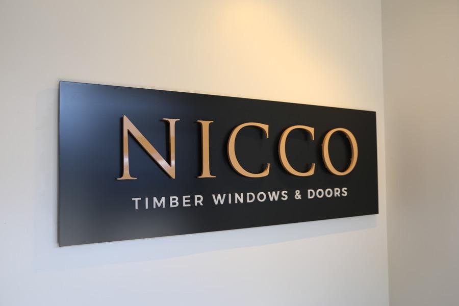 Nicco Reception 3D Panel