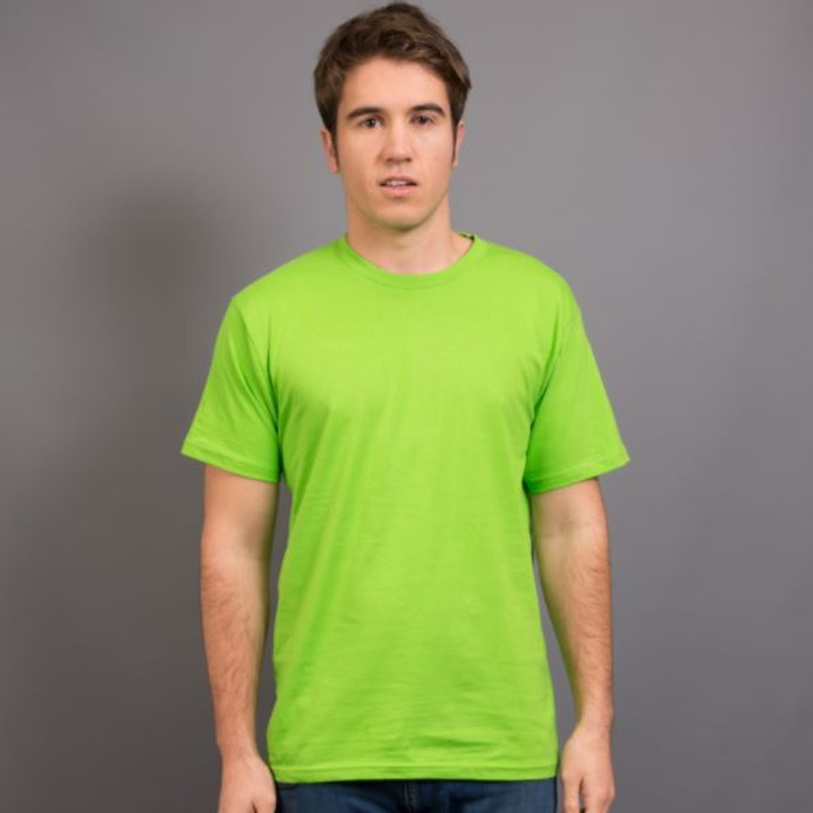 Mens Surf T-Shirt (Lime Green)