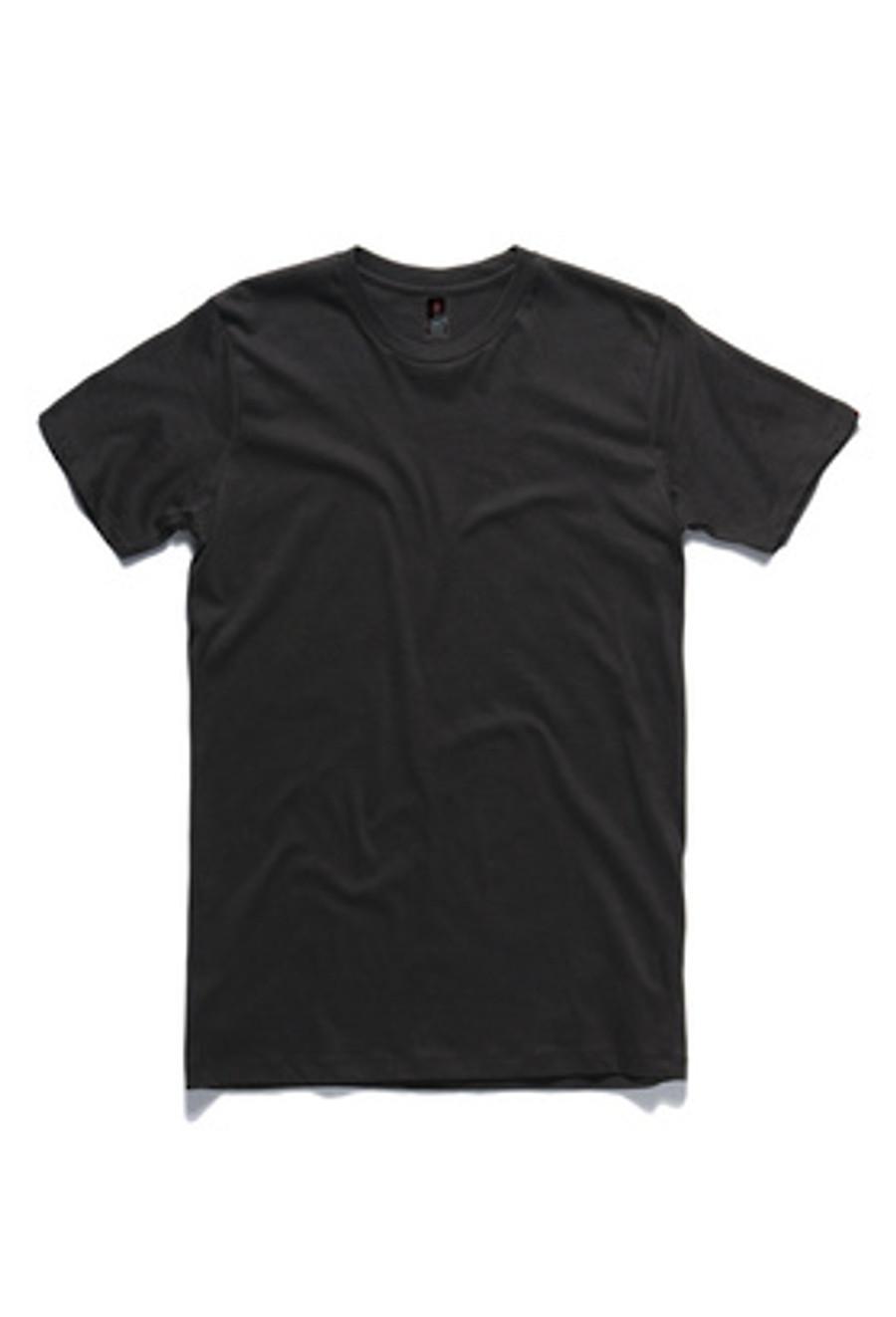 Mens Paper T-Shirt  (Coal)