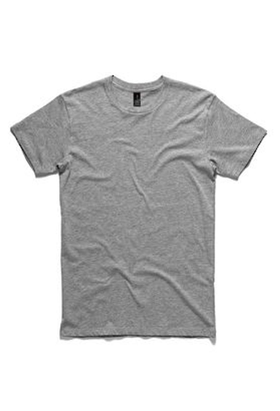 Mens Paper T-Shirt  (Grey Marle)