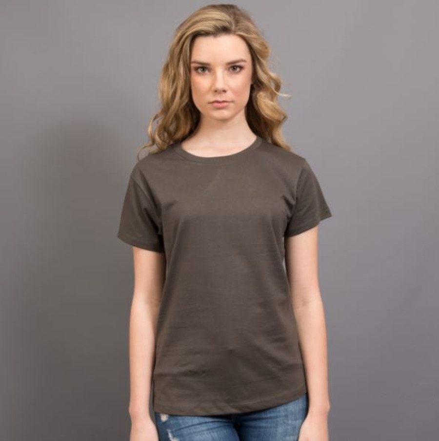 Ladies Surf T-Shirt  (Charcoal)