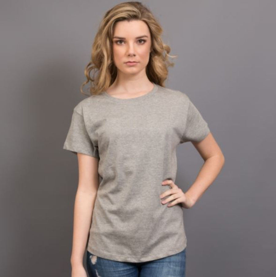 Ladies Surf T-Shirt  (Grey Marle)