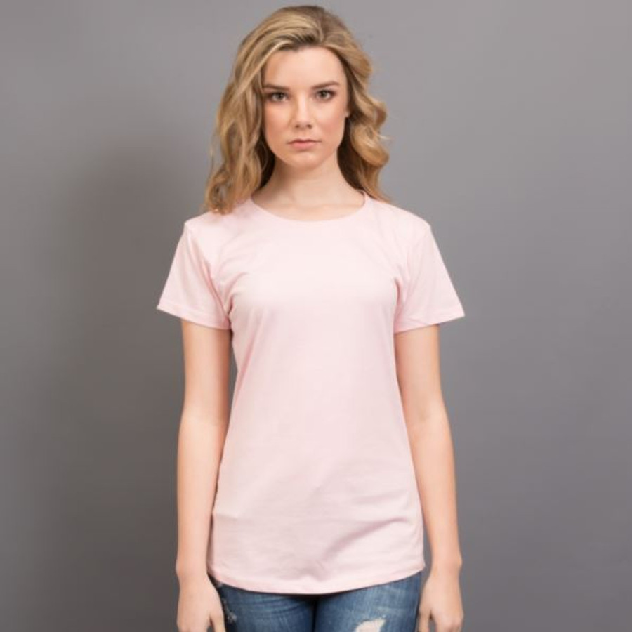 Ladies Surf T-Shirt  (Pink)