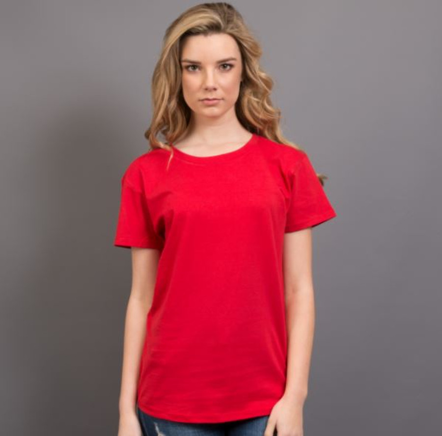 Ladies Surf T-Shirt  (Red)