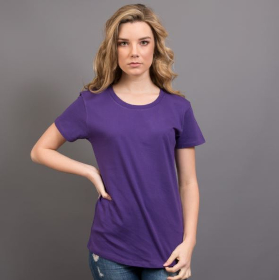 Ladies Surf T-Shirt  (Purple)