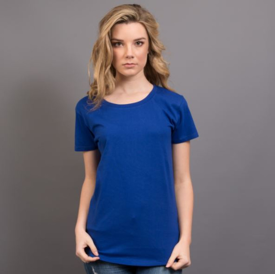Ladies Surf T-Shirt  (Royal Blue)