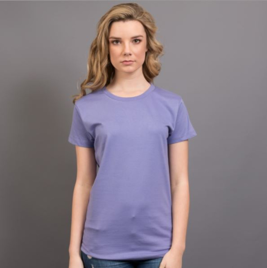 Ladies Surf T-Shirt  (Pale Purple)