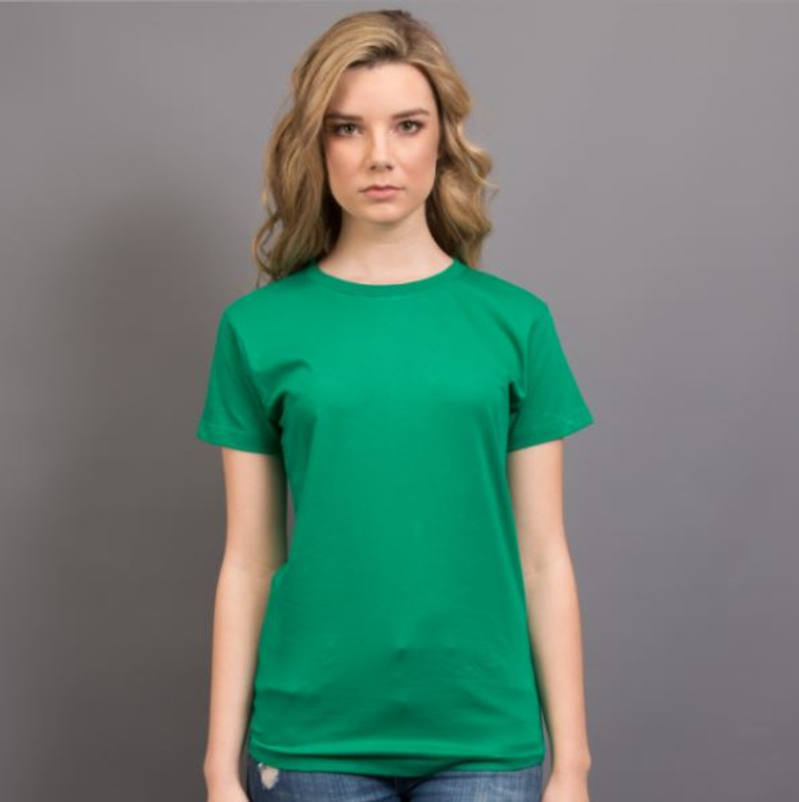 Ladies Surf T-Shirt  (Emerald Green)