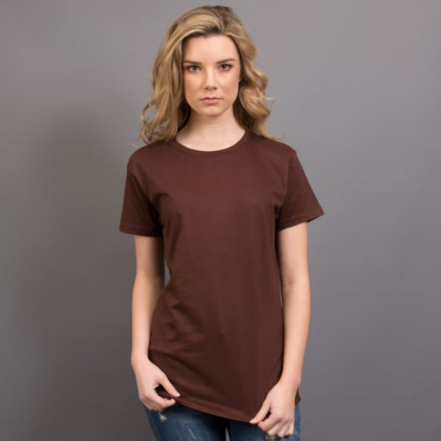 Ladies Surf T-Shirt  (Chocolate)