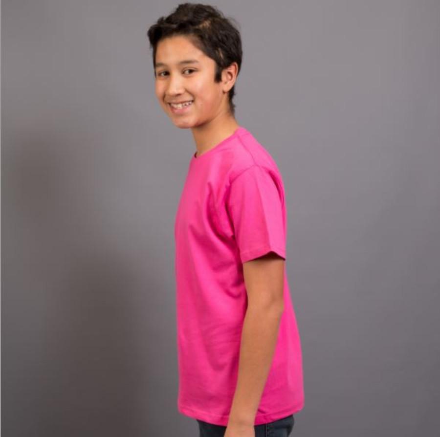 Kids Surf T-Shirt (Hot Pink)