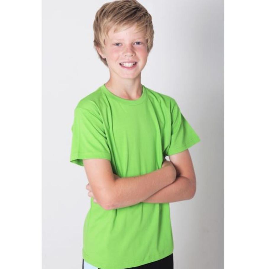 Kids Surf T-Shirt (Lime Green)