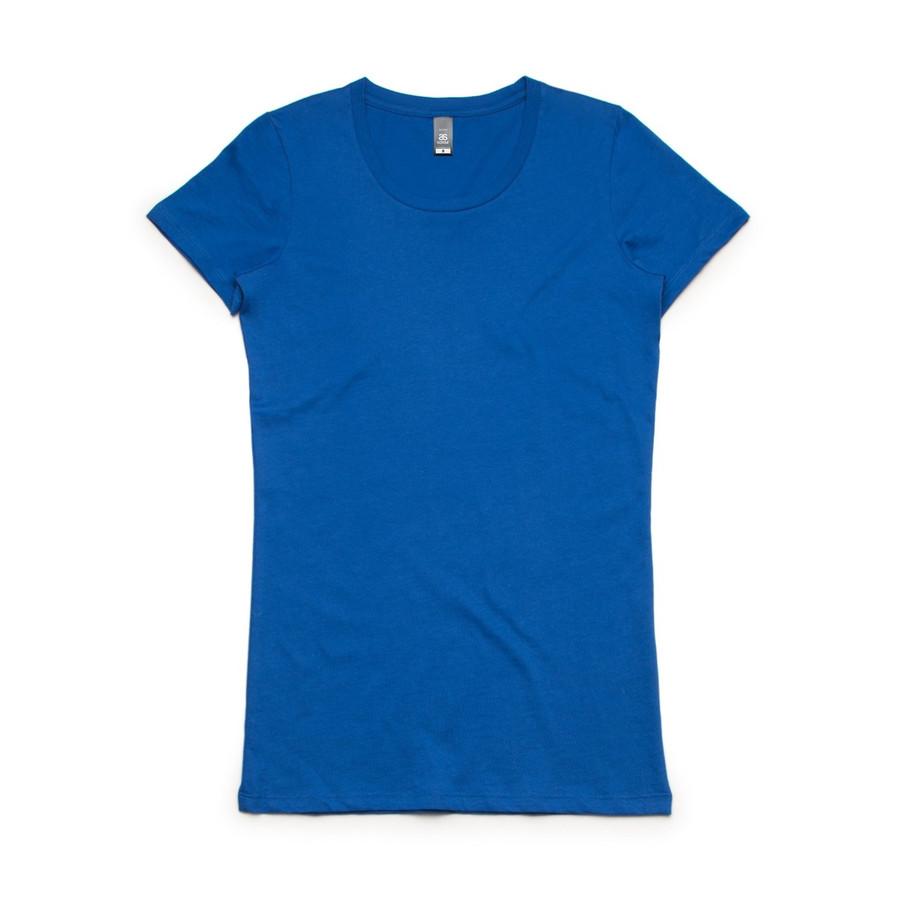 Ladies Wafer T-Shirt  (Bright Royal)