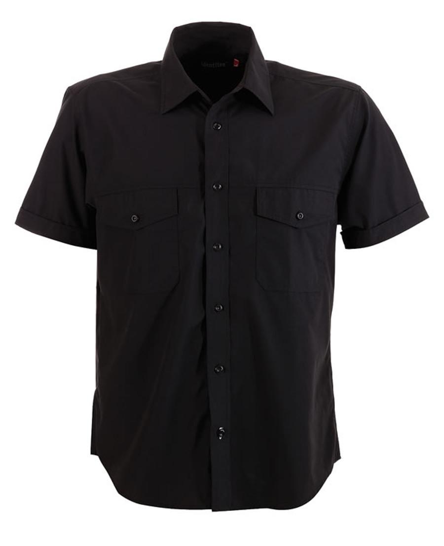Mens Harley Business Shirt (Black)