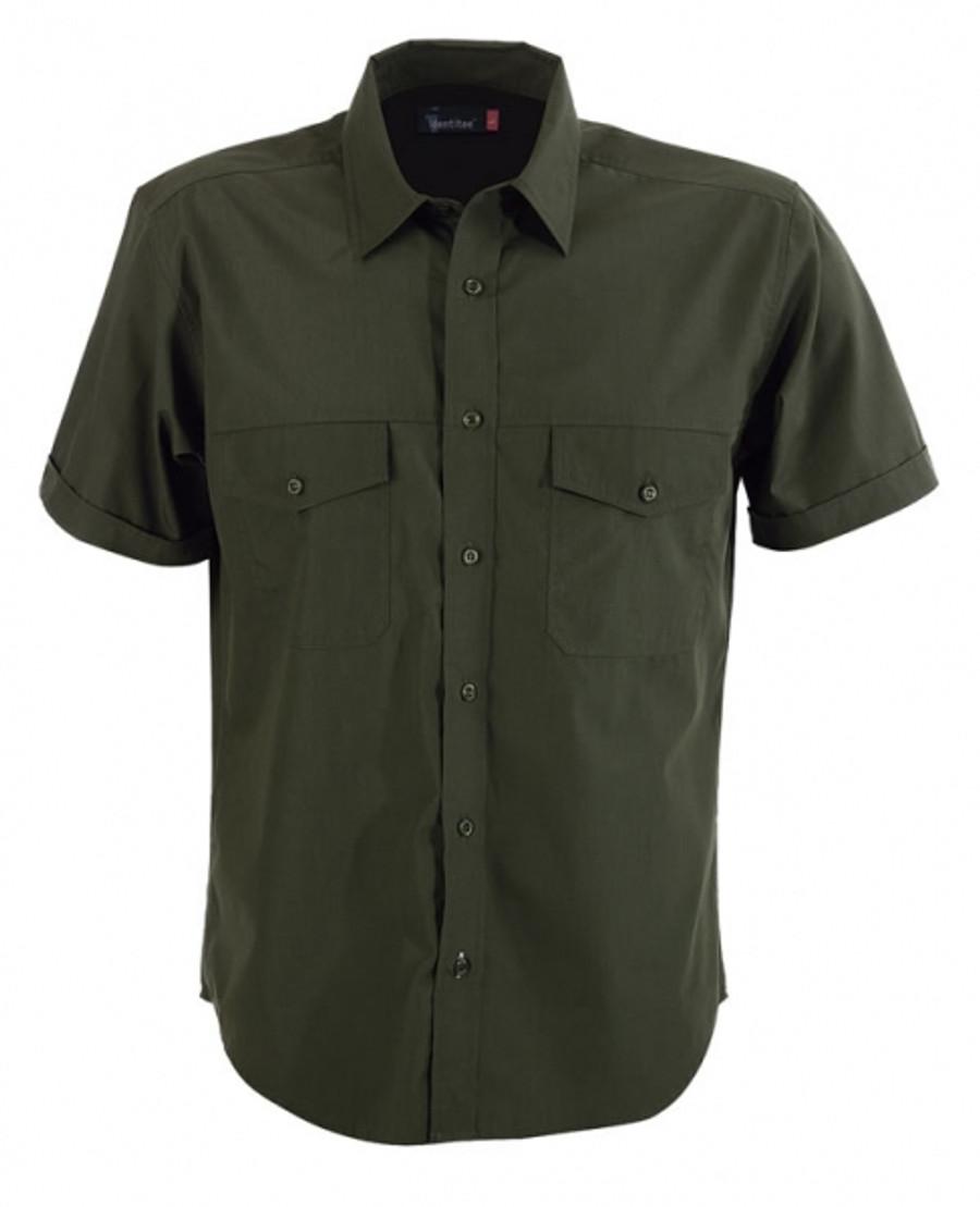 Mens Harley Business Shirt (Military)