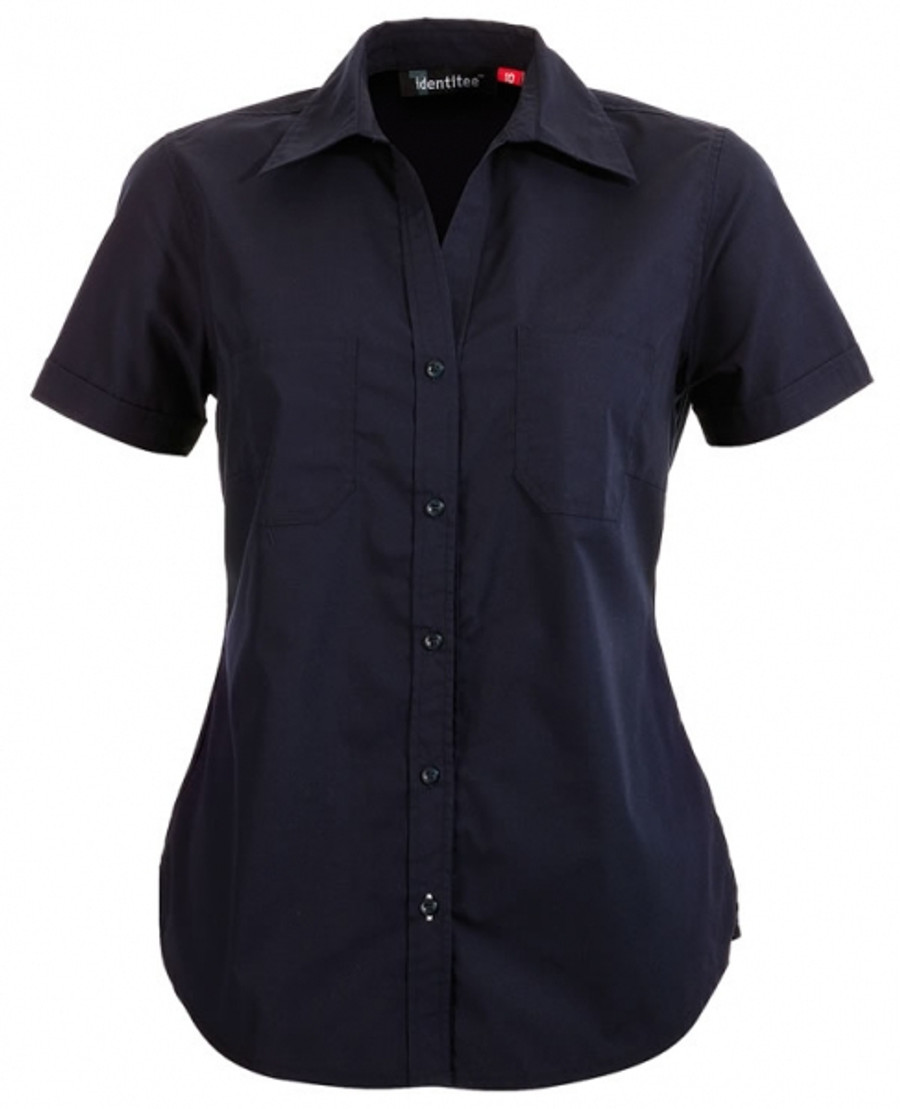 Ladies Harley Business Shirt  (Ink)