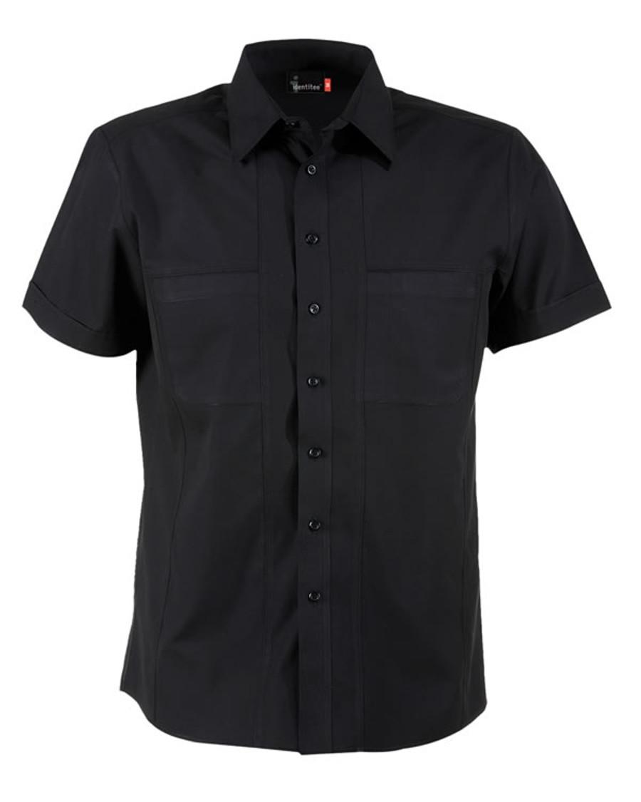 Mens Aston Business Shirt (Black)