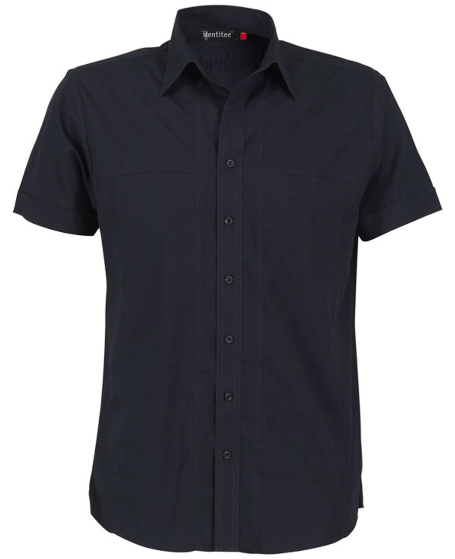 Mens Aston Business Shirt (Ink)