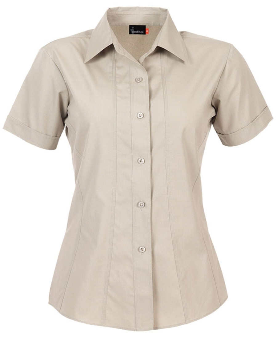 Ladies Aston Business Shirt (Stone)