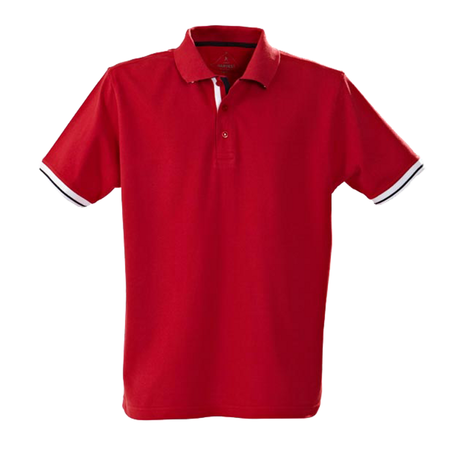 Mens Anderson Polo Shirt (Red)
