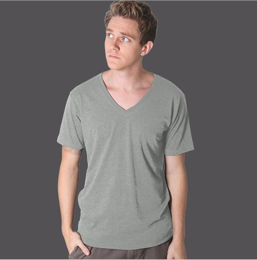 Mens Nauticus T-Shirt  (Grey Marle)