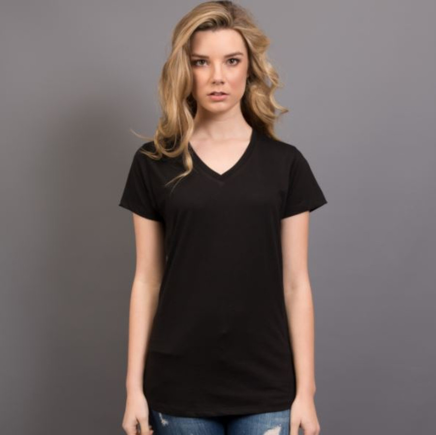 Ladies Nauticus T-Shirt  (Black)