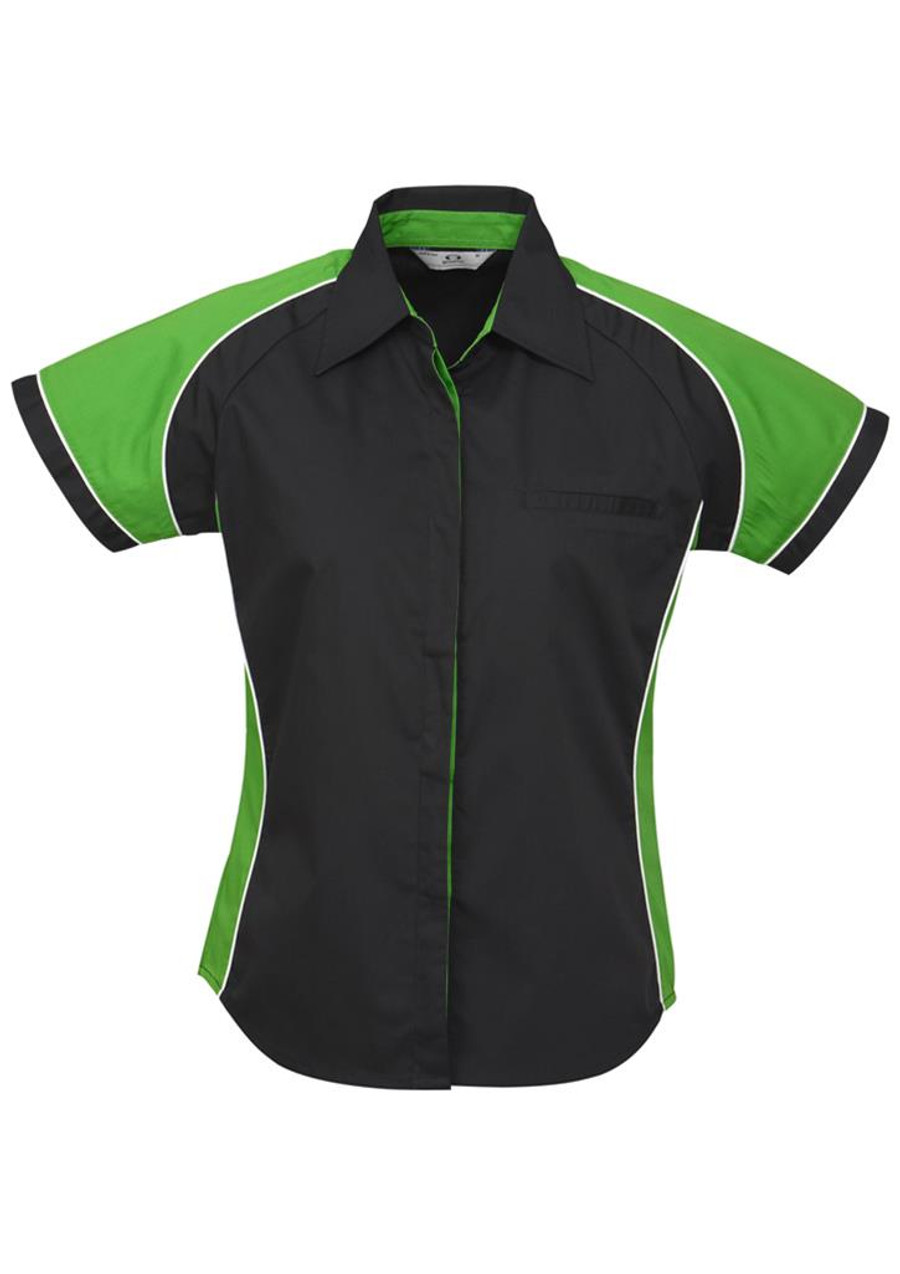 Ladies Nitro S/S - Black/Green
