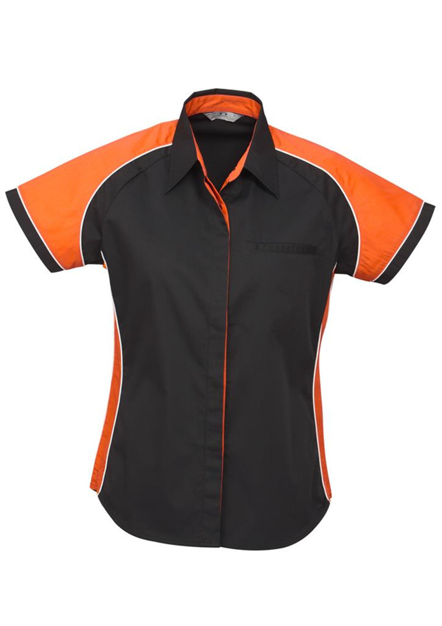 Ladies Nitro S/S - Black/Orange