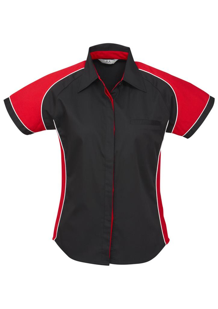 Ladies Nitro S/S - Black/Red