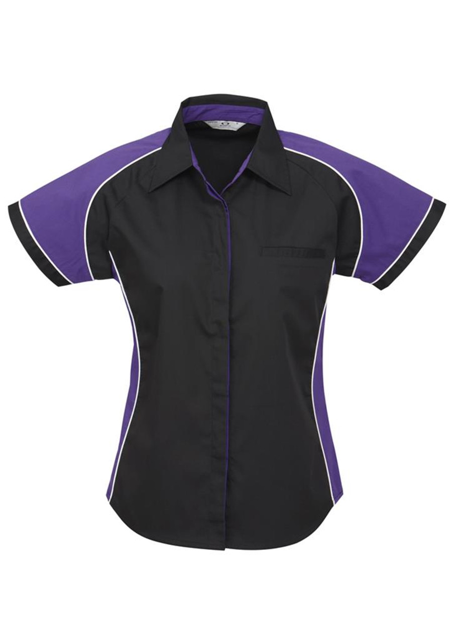 Ladies Nitro S/S - Black/Purple