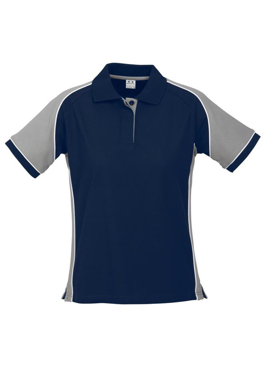 Ladies Nitro Polo (Navy/Grey)