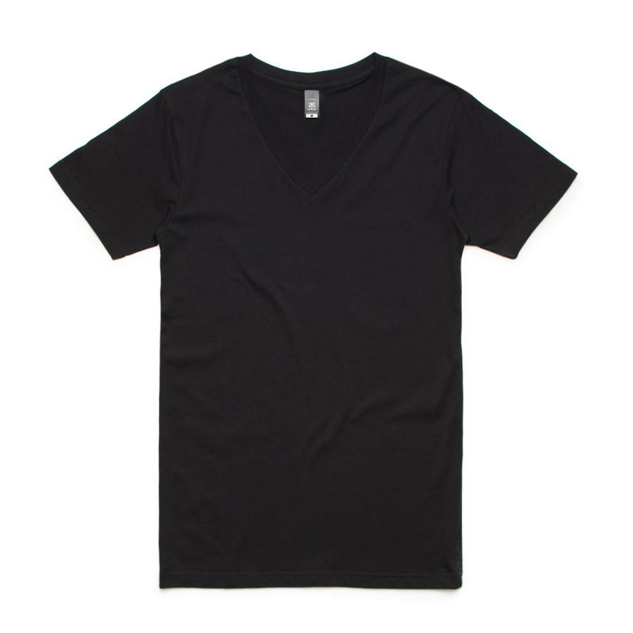 Tarmac V-Neck T-Shirt (Black)