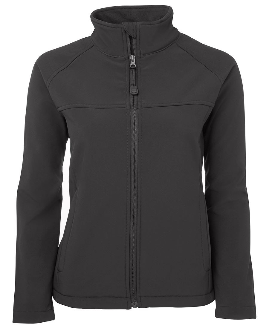 Ladies Layer Soft Shell Jacket (Charcoal)