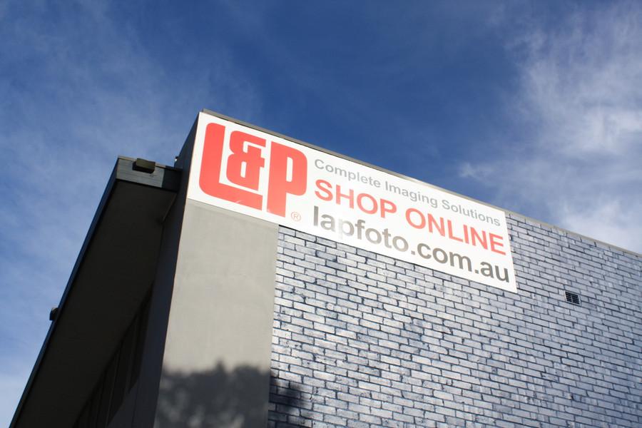 L&P External Signage