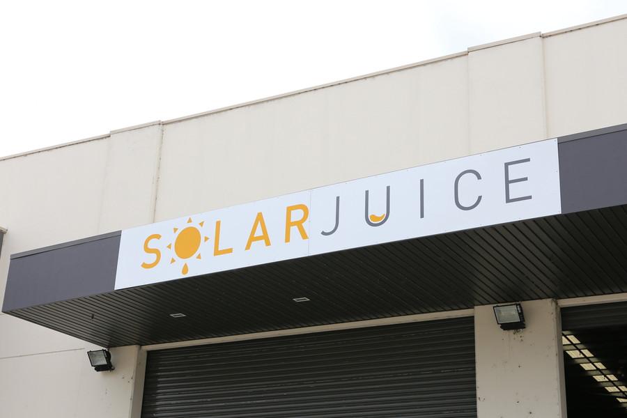 Solar Juice External Signage
