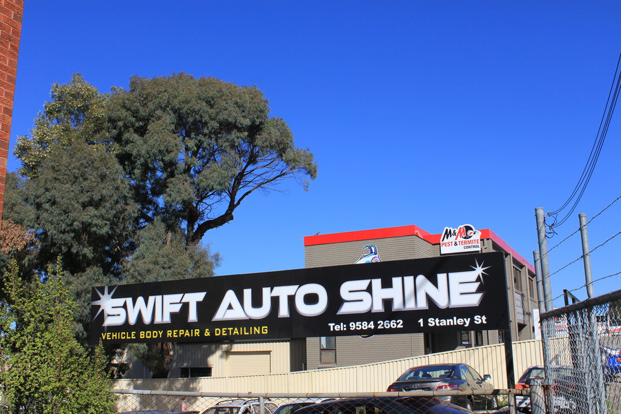 Swift External Signage