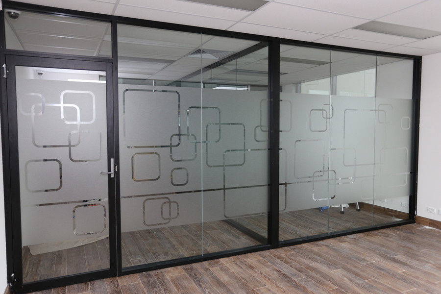 Frosted Glass Cut-Out